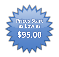 Prices Start as Low as $95.00